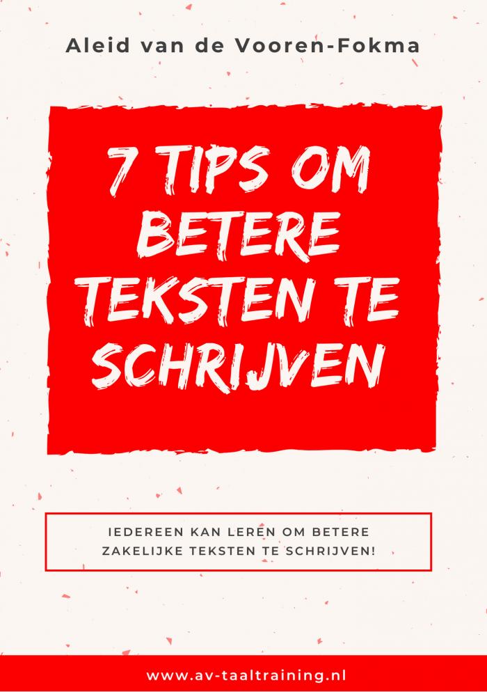 7 tips om betere e-mails te schrijven